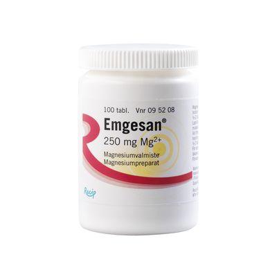 EMGESAN 250 mg tabl 200 kpl