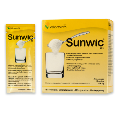 SunwicIBS annospussi 14x5 g