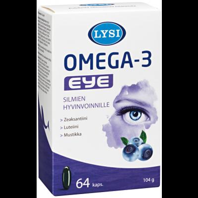 Lysi Omega-3 Eye kaps X64 kpl