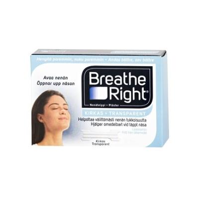 BREATHE RIGHT NENÄTEIPPI 10 KPL