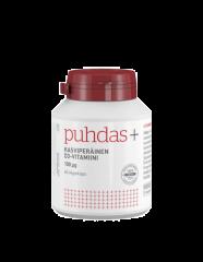 Puhdas+ Kasviperäinen D3-vitamiini 100 mikrog X60 kaps