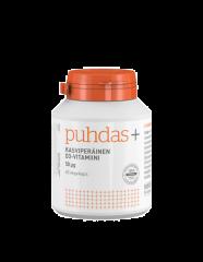Puhdas+ Kasviperäinen D3-vitamiini 50 mikrog X60 kaps