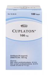 CUPLATON 100 mg kaps, pehmeä 100 kpl