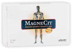 MAGNECIT  MAGNESIUMSITRAATTI + B6-VITAMIINI X30 TABL