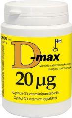 D-max 20 mikrog 300 tabl