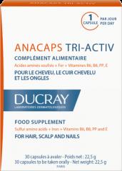 Ducray Anacaps TRI-ACTIV 30 kpl