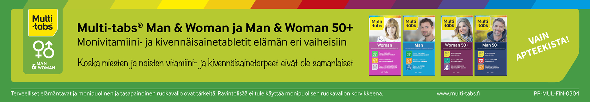 Multi-tabs Man Woman